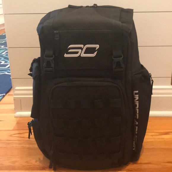 Under Armour Bags   Stephen Curry Backpackbook Bag   Poshmark dc9c3deb85